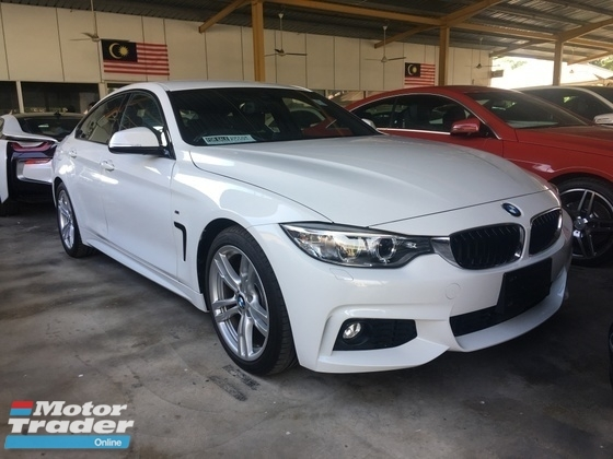 2015 BMW 4 SERIES Unreg bmw 420i 4 door M sport 2ES Camere Grand Coupe Keyless Paddle Shift