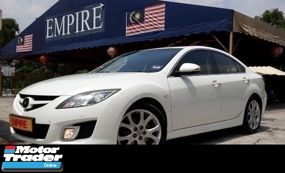 2009 MAZDA 6 2.5 ( A ) COME WITH PADDLE SHIFT PUSH START BUTTON SUNROOF AND BODYKIT !! WITH BOSE SOUND SYSTEM !! ( WXX 567 ) 1 CAREFUL OWNER !!