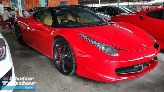 2011 FERRARI 458 2011 Ferrari 458 used