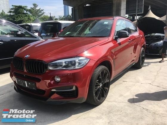 2015 BMW X6 3.0 TURBO DIESEL TDI POWER BOOT CAMERA 8SPEED