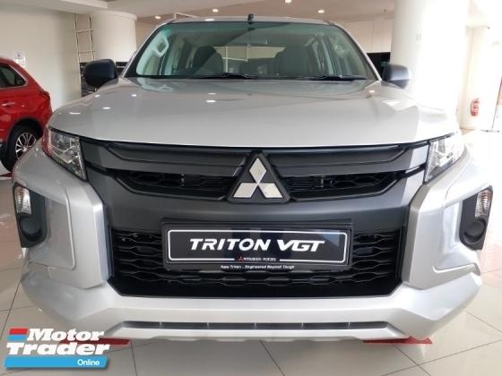 2019 MITSUBISHI TRITON VGT MIVEC 4x4 Discount Std 4K + Additional