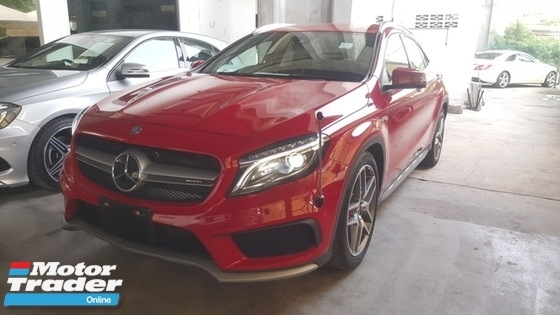 2015 MERCEDES-BENZ GLA 45 AMG 4MATIC UNREGISTER 1 YEAR WARRANTY