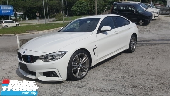 2016 BMW 4 SERIES 420i GRAN COUPE M SPORT UNRE 1 YEAR WARRANTY