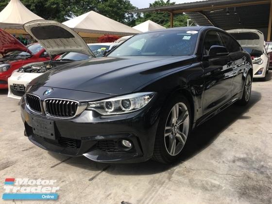 2015 BMW 4 SERIES Unreg BMW 420i Grand Coupe 4 Door M Sport Camera Keyless Push Start 8 Speed Gear