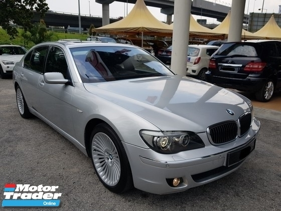 2007 BMW 7 SERIES 740LI 4.0 (A) CBU