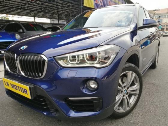 2016 BMW X1 2.0 F48 S-Drive20i -Power boot -Navi -Paddle shift -Bmw Warranty Until 2021Dec