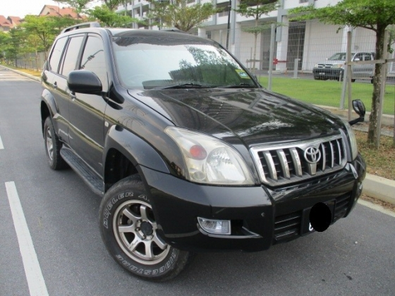 2006 TOYOTA PRADO TZ LAND CRUISER 3.0 AUTO DIESEL TURBO D-4D ENGINE 4WD 4X4 HILUX ENGINE
