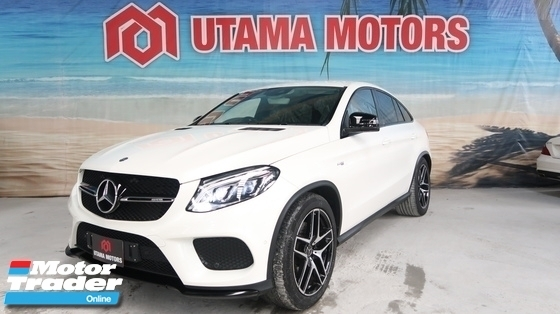 2017 MERCEDES-BENZ GLE 43 AMG 4MATIC PUSH START MEMORY SEAT POWER BOOT PADDLE SHIFT MERDEKA SALE