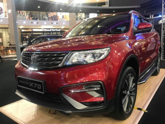 2019 PROTON X70 1.8 TGDI 2WD-LOW BANK RATES 2.3% FAST GET CAR