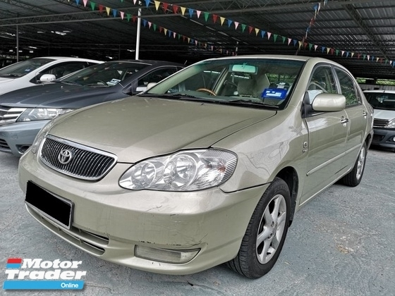 2001 TOYOTA ALTIS 1.8 G (SELL CHEAP)