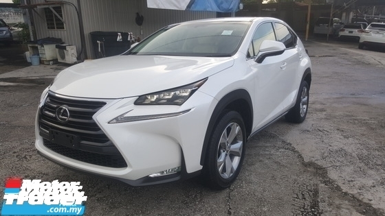 2015 LEXUS NX 200t Version L UNREG 1 YEAR WARRANTY