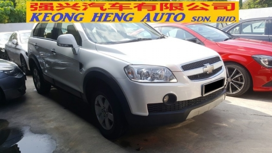 2010 CHEVROLET CAPTIVA 2.4 AWD 10/11