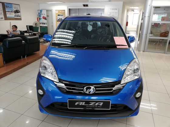 2019 PERODUA ALZA 2019 Alza new face lift