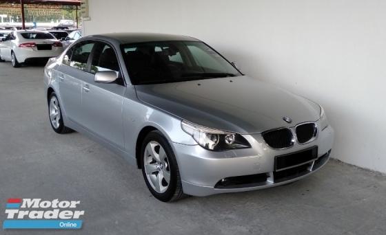 2005 BMW 5 SERIES 525i 2.5 iDrive Double Vanos Facelift Spec