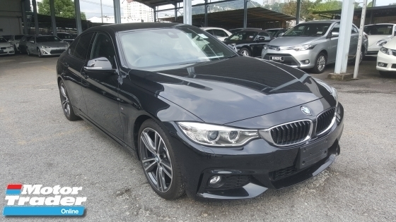 2015 BMW 4 SERIES 420i Gran Coupe M Sport UNREG 1 YEAR WARRANTY