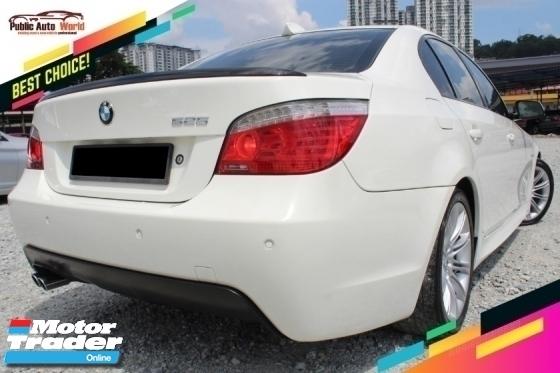 2010 BMW 5 SERIES BMW 525i E60 2.5 LCi M SPORT SROF HUD 2010 L/BATCH