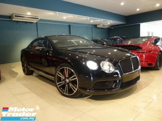 2014 BENTLEY CONTINENTAL 4.0 V8 Mulliner Full Spec. HIGHEST Grade CAR. NEGO Until Let Go.Provide WARRANTY Rolls Royce Bentley