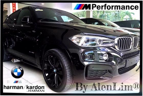2015 BMW X6 M Sport 40D 3.0D (UNREG) HARMON KARDON SPORT COMFORT