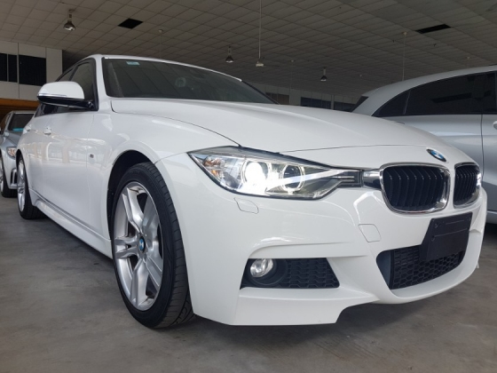 2014 BMW 3 SERIES BMW F30 320D M-SPORT DIESEL TURBO (UNREG) JAPAN SPEC
