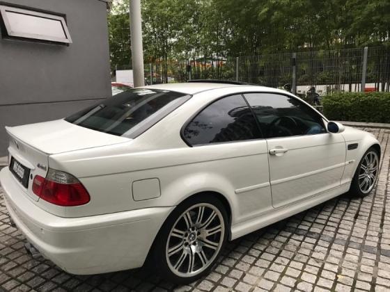 2002 BMW M3 E46 6 speed original