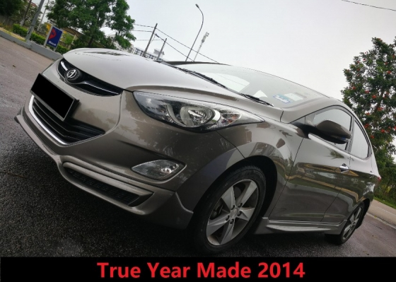 2014 HYUNDAI ELANTRA 1.6 GLS True Year Made