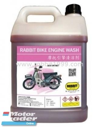RABBIT BIKE ENGINE WASH Half-cut