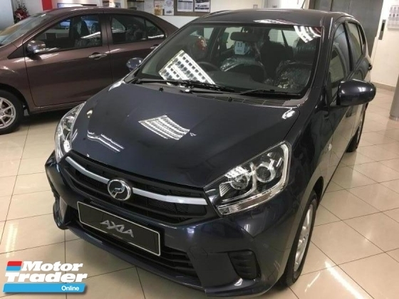 2019 PERODUA AXIA G FACELIFT AUTO BEST PROMO CAR FAST NEW