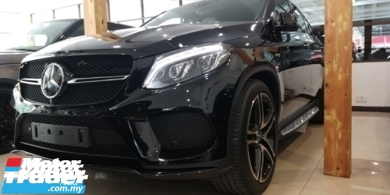 2016 MERCEDES-BENZ GLE 43 3.0 4MATIC DESIGNO DESIGN / ORIGINAL MILEAGE / READY STOCK