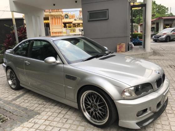 2003 BMW 3 SERIES E46 M3 Manual 6 speed ready stock