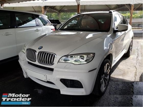 2012 BMW X6 M 4.4 TWIN TURBO M- PERFORMANCE ENGINE SUV Full RED leather seat 0% TAX ! NO