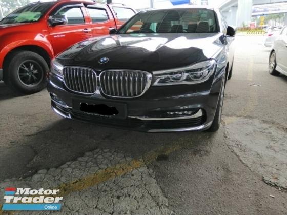 2016 BMW 7 SERIES 730Li FULL SERVICE RECORD UNDER WARRANTY