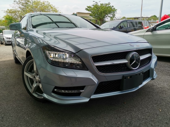 2014 MERCEDES-BENZ CLS-CLASS CLS350 AMG SUNROOF POWERBOOT UNREG