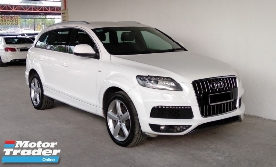 2012 AUDI Q7 3.0 TDI Quattro S-Line Hi Low Suspension