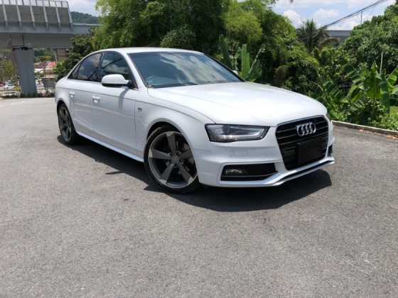 2014 AUDI A4 2.0 TFSI S Line Quattro Black Edition MMI Keyless Push Start Japan Spec
