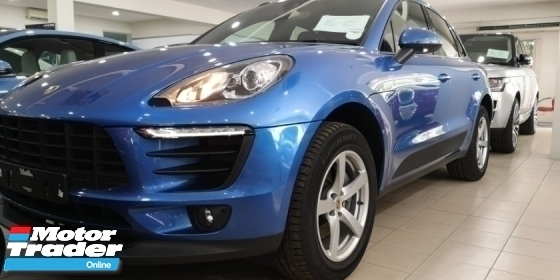 2015 PORSCHE MACAN 2.0 / TIPTOP CONDITION FROM UK / READY STOCK NO NEED WAIT
