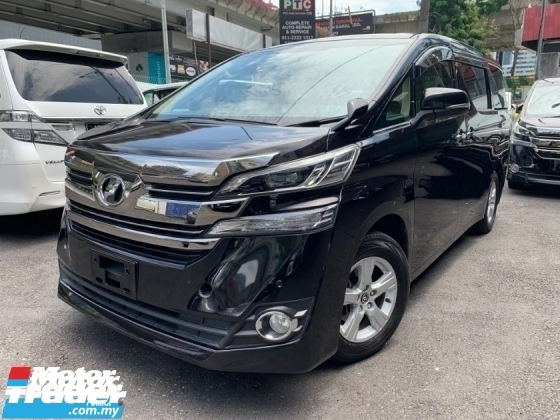 2015 TOYOTA VELLFIRE 2.5 X SPEC 2 POWER DOOR 8 SEATS UNREG 1 YEAR WARRANTY