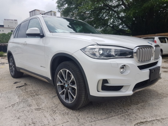 2014 BMW X5 XDRIVE 35D 3.0L DIESEL TURBO (UNREG) 7 SEATER