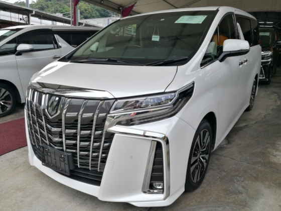 2018 TOYOTA ALPHARD TOYOTA ALPHARD 2.5 SC FULL SPEC RAYA OFFER CHEAPEST IN TOWN UNREG 18