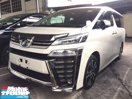 2018 TOYOTA VELLFIRE 2.5 ZG FACELIFT FULLSPEC.UNREGISTER.TRUE YEAR MADE CAN PROVE.SUNROOF.3 POWER DRS N BOOT.MEMORY SEAT.LEATHER.360 SURROUND CAMERA.SPECIAL BODYKIT N SPORT RIM.FREE WARRANTY N MANY GIFTS