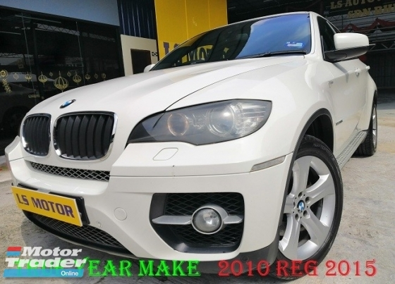 2010 BMW X6 2015 XDRIVE 35I FACELIFT 3.0 AUTO - TWIN POWER TURBO ENGINE - PADDLE SHIFT - SUNROOF - FULL LEATHER - 4NEW TYRE - MEMORY SEAT - FULL SERVICE RECORD - FULL LOAN - RM0 D.PAYMENT...