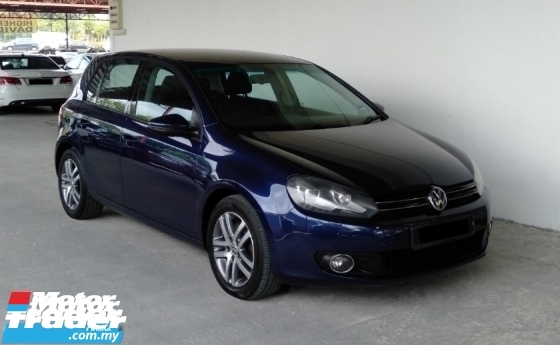 2012 VOLKSWAGEN GOLF 1.4 TSI Auto MK6 Sport Daylight Model