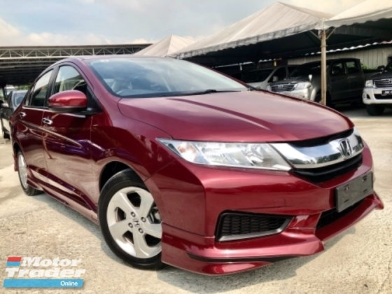 2017 HONDA CITY 1.5 E (A) FULL SVR RECORD UNDER WARRANTY HONDA