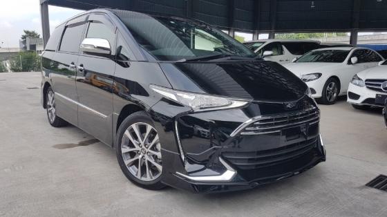 2018 TOYOTA ESTIMA 2018 Toyota Estima 2.4 Aeras Premium Demo car Pre Crash Power Boot Electric Seat Unregister for sale