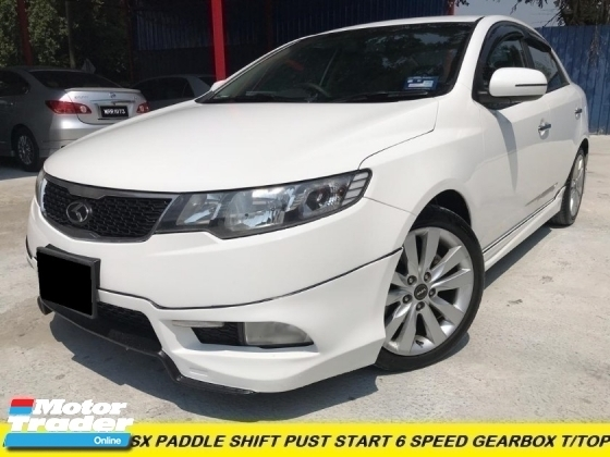 2013 KIA FORTE 1.6 SX PADDLE SHIFT PUST START 6 SPEED LOW MILES 1 OWNER MALAY