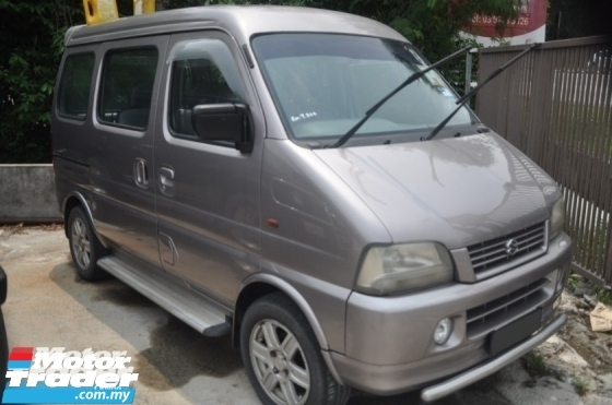 2002 SUZUKI ERV 1.3 AUTO