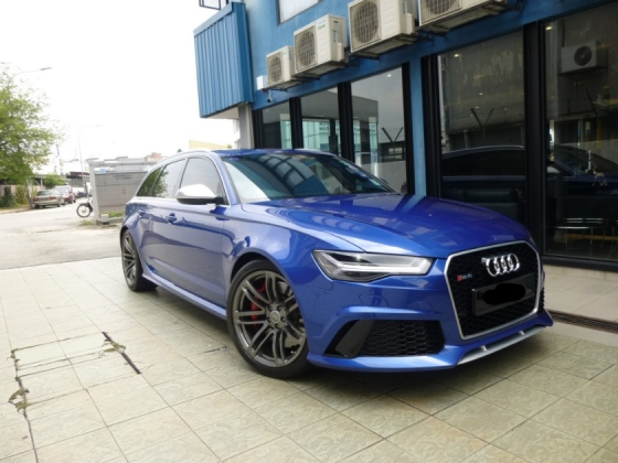 2015 AUDI RS6 4.0 AVANT FULL SPEC. GENUINE MILEAGE. HIGHEST GRADE CAR. PROVIDE WARRANTY. RS4 RS5 M4 M5 M6 AUDI