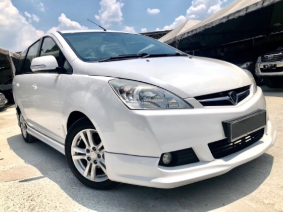 2011 PROTON EXORA 1.6 H-LINE (A) FULL SPEC  1 MALAY OWNER