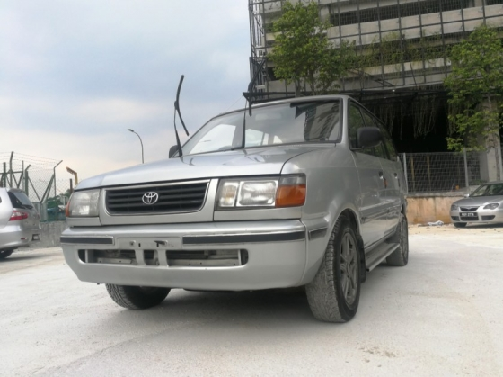 2000 TOYOTA UNSER 1.8 (M) EXCELLENT CONDITION ** CAREFUL OWNER ** SPECIAL PROMOTION**