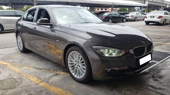 2013 BMW 3 SERIES 320I 2.0cc LUXURY LINE (A) REG 2013, ONE CAREFUL OWNER, FULL SERVICE RECORD, LOW MILEAGE DONE 121K KM, FREE 1 YEAR GMR CAR WARRANTY