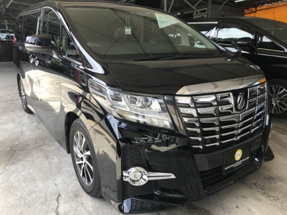 2016 TOYOTA ALPHARD 2.5 SC JBL HOME THEATER FULL SPEC 2017